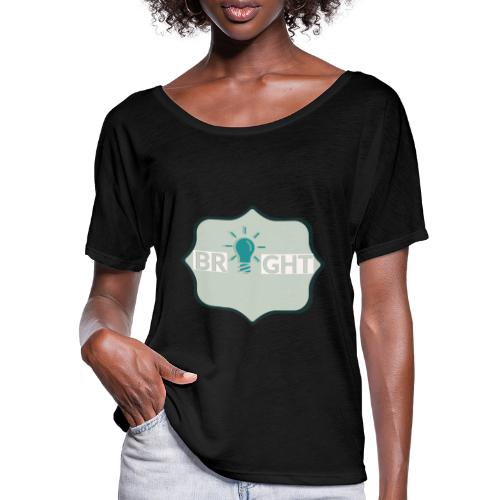 bright - Women's Batwing-Sleeve T-Shirt by Bella + Canvas
