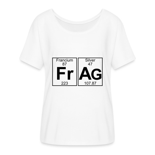 Fr-Ag (frag) - Full - Women's Batwing-Sleeve T-Shirt by Bella + Canvas