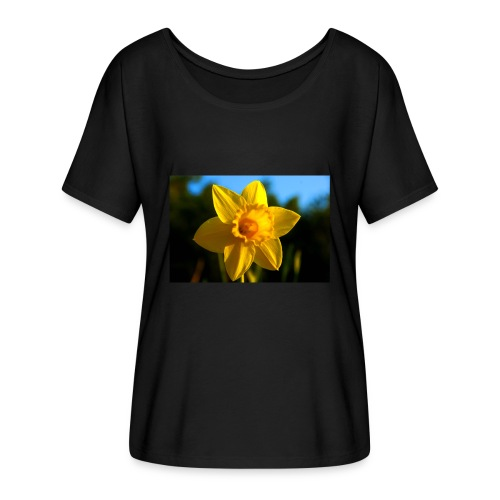 daffodil - Women's Batwing-Sleeve T-Shirt by Bella + Canvas