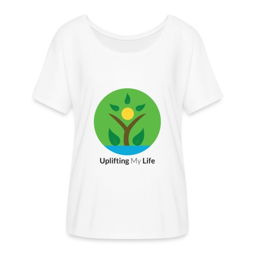 Uplifting My Life Official Merchandise - Women's Batwing-Sleeve T-Shirt by Bella + Canvas