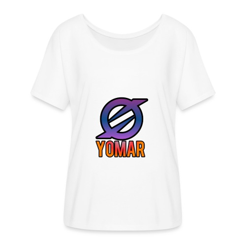 YOMAR - Women's Batwing-Sleeve T-Shirt by Bella + Canvas