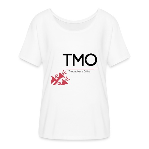 TMO Logo - Women's Batwing-Sleeve T-Shirt by Bella + Canvas