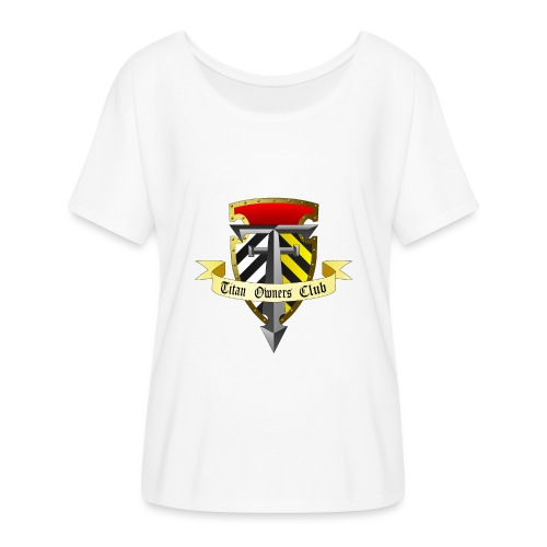 TOC Gothic Clear Background 1 - Flowy Women's T-Shirt by Bella + Canvas