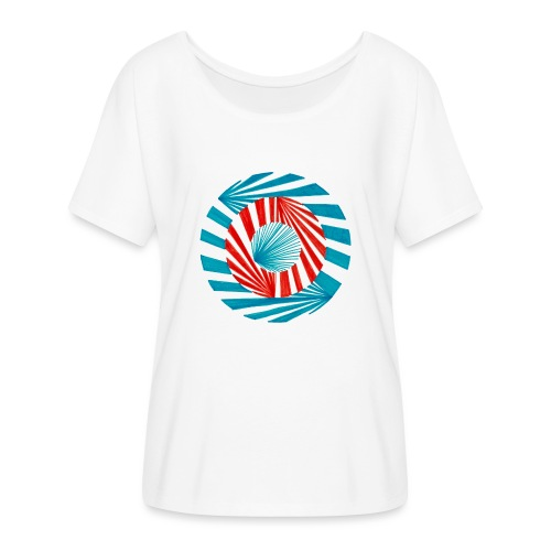 Different Directions - Women's Batwing-Sleeve T-Shirt by Bella + Canvas