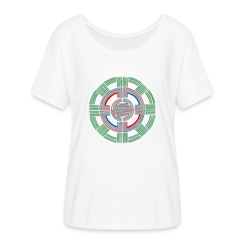 Four Directions - Women's Batwing-Sleeve T-Shirt by Bella + Canvas