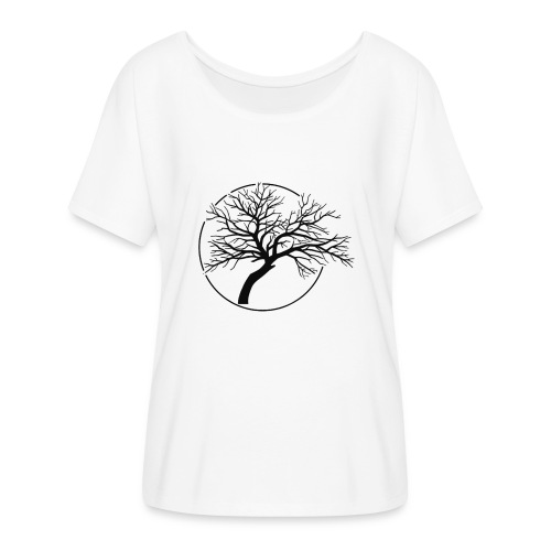 Vain and Hopeless - Tree icone_bk - T-shirt manches chauve-souris Femme Bella + Canvas