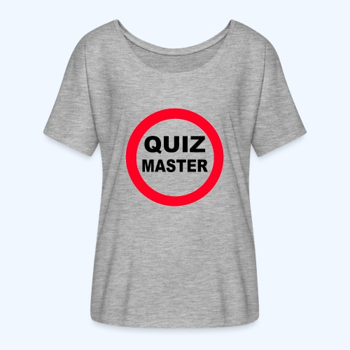 Quiz Master Stop Sign - Women's Batwing-Sleeve T-Shirt by Bella + Canvas