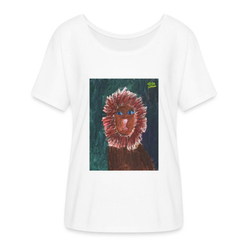 Lion T-Shirt By Isla - Women's Batwing-Sleeve T-Shirt by Bella + Canvas