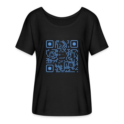 QR Maidsafe.net - Women's Batwing-Sleeve T-Shirt by Bella + Canvas