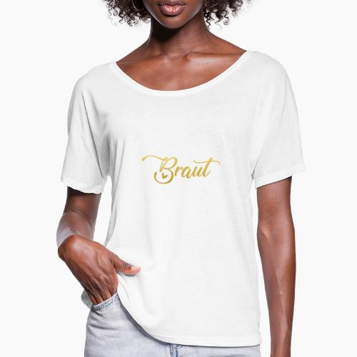 Bride - ladies hen party JGA party - Women's Batwing-Sleeve T-Shirt by Bella + Canvas