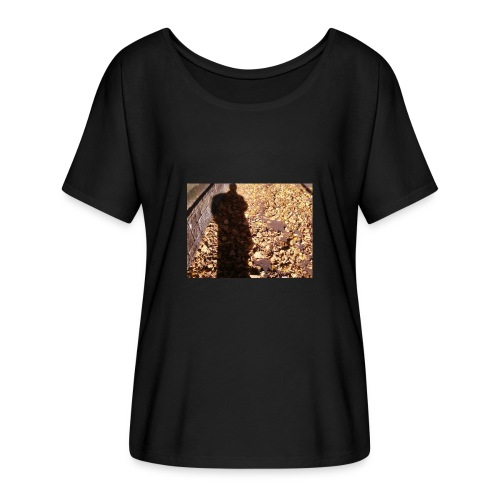 THE GREEN MAN IS MADE OF AUTUMN LEAVES - Women's Batwing-Sleeve T-Shirt by Bella + Canvas