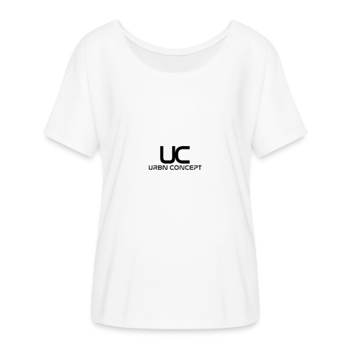 URBN Concept - Women's Batwing-Sleeve T-Shirt by Bella + Canvas