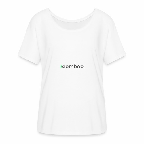 Biomboo Charcoal - Women's Batwing-Sleeve T-Shirt by Bella + Canvas