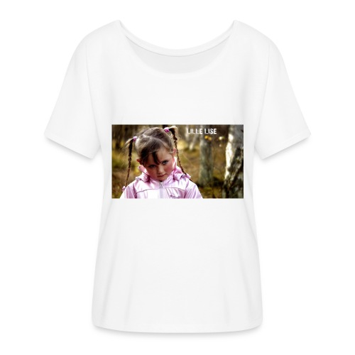 Lille Lise Picture - Flowy Women's T-Shirt by Bella + Canvas