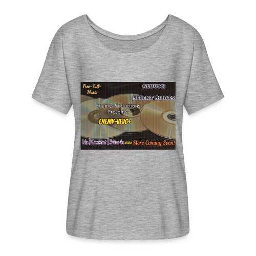 Enemy_Vevo_Picture - Women's Batwing-Sleeve T-Shirt by Bella + Canvas
