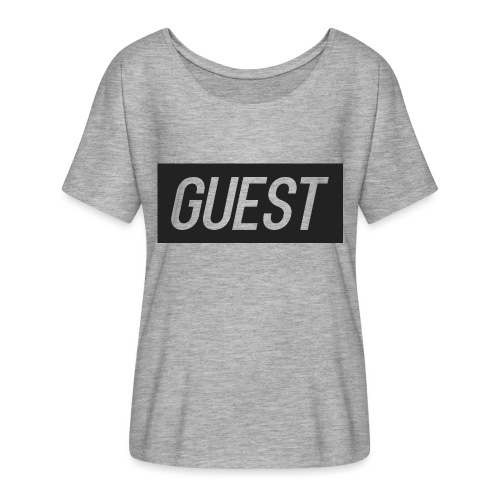 G-rectangle (grey) - Women's Batwing-Sleeve T-Shirt by Bella + Canvas
