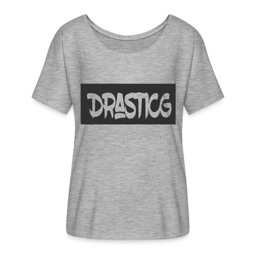 Drasticg - Women's Batwing-Sleeve T-Shirt by Bella + Canvas