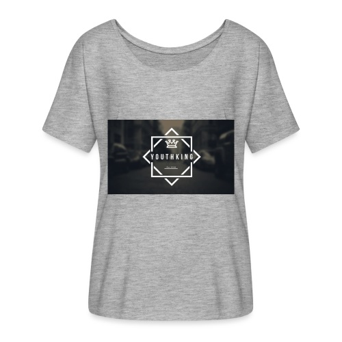 Youth King logo - Women's Batwing-Sleeve T-Shirt by Bella + Canvas