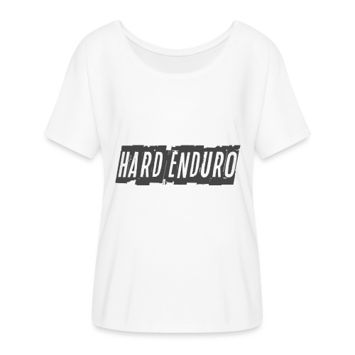 Hard Enduro - Women's Batwing-Sleeve T-Shirt by Bella + Canvas