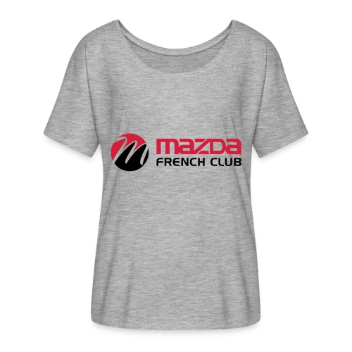 mazda french club - T-shirt manches chauve-souris Femme Bella + Canvas