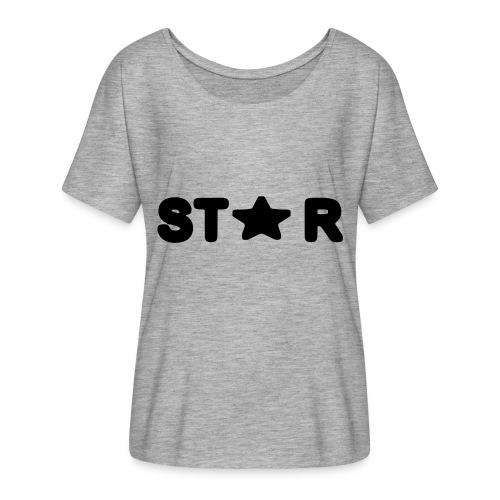 i see a star - Women's Batwing-Sleeve T-Shirt by Bella + Canvas