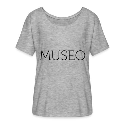 museo - Women's Batwing-Sleeve T-Shirt by Bella + Canvas