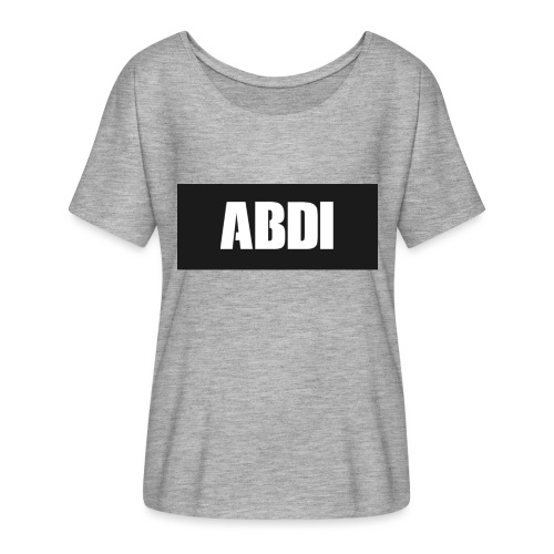 Abdi - Women's Batwing-Sleeve T-Shirt by Bella + Canvas