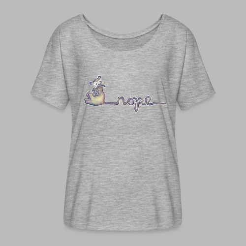 Nope - Women's Batwing-Sleeve T-Shirt by Bella + Canvas