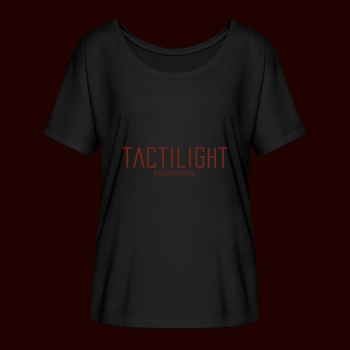 TACTILIGHT - Women's Batwing-Sleeve T-Shirt by Bella + Canvas