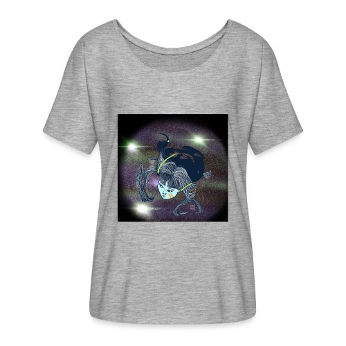 the Star Child - Women's Batwing-Sleeve T-Shirt by Bella + Canvas