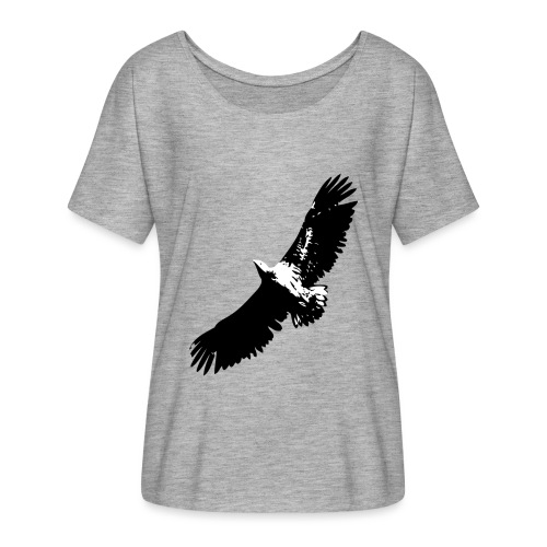 Fly like an eagle - Frauen T-Shirt mit Fledermausärmeln von Bella + Canvas