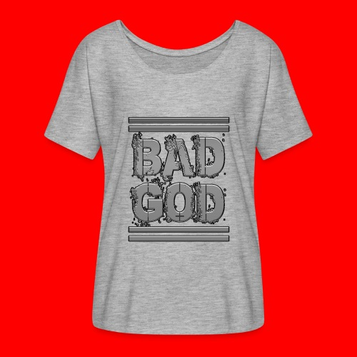 BadGod - Women's Batwing-Sleeve T-Shirt by Bella + Canvas