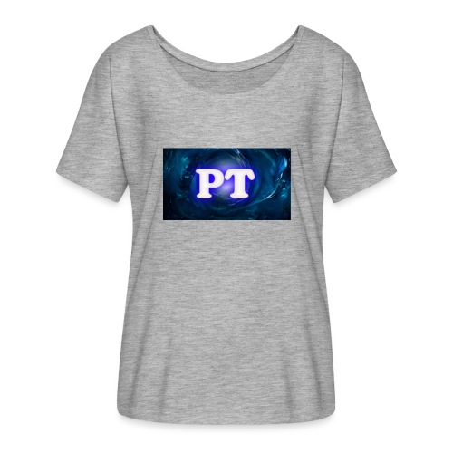 Project T Logo - Women's Batwing-Sleeve T-Shirt by Bella + Canvas