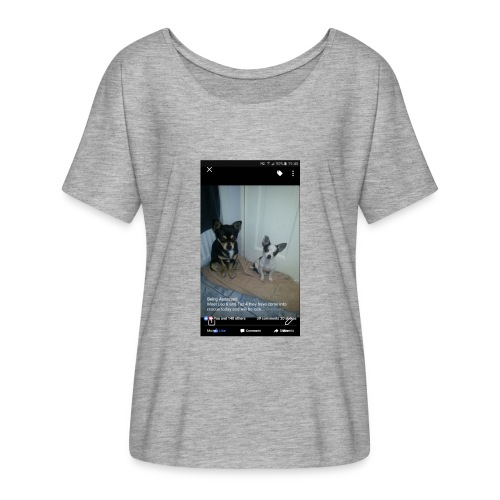 Dogs - Women's Batwing-Sleeve T-Shirt by Bella + Canvas