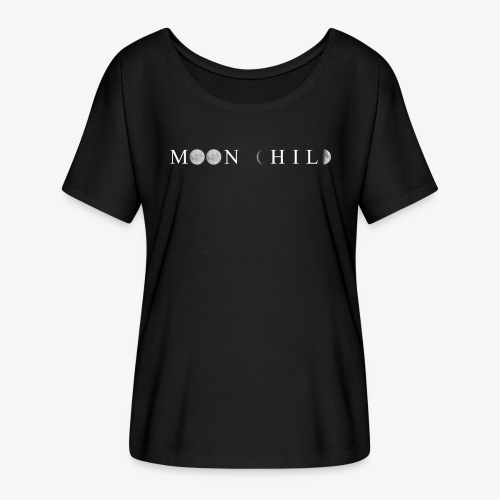 Moon child tshirt - Maglietta da donna con maniche a pipistrello di Bella + Canvas