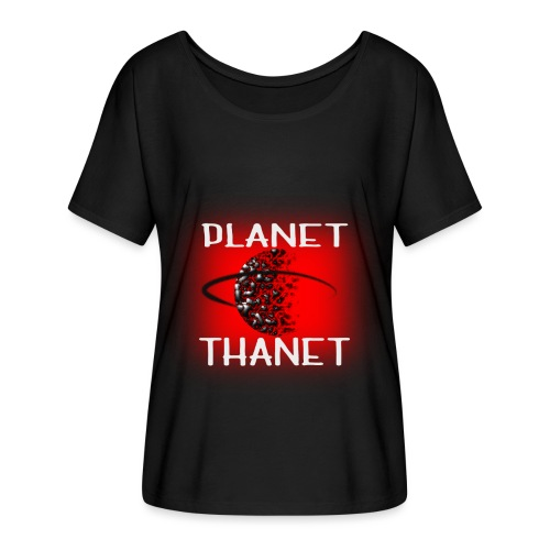 Planet Thanet - Made in Margate - Women's Batwing-Sleeve T-Shirt by Bella + Canvas