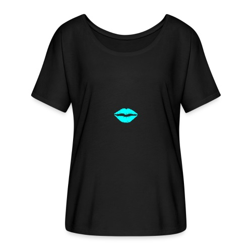 Blue kiss - Women's Batwing-Sleeve T-Shirt by Bella + Canvas