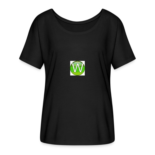 Alternate W1ll logo - Women's Batwing-Sleeve T-Shirt by Bella + Canvas