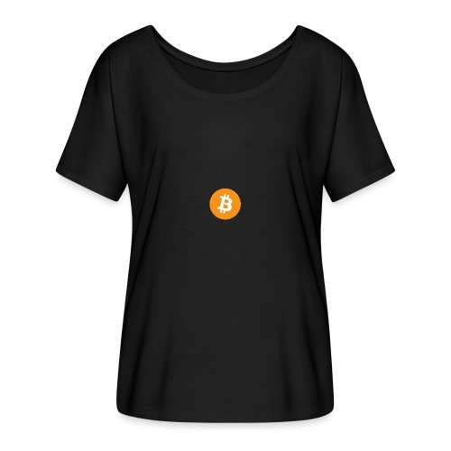 Bitcoin - Women's Batwing-Sleeve T-Shirt by Bella + Canvas