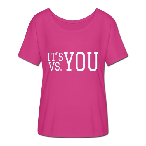 You vs You - Women's Batwing-Sleeve T-Shirt by Bella + Canvas