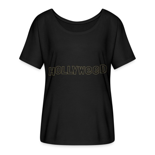 Hollyweed shirt - T-shirt manches chauve-souris Femme Bella + Canvas