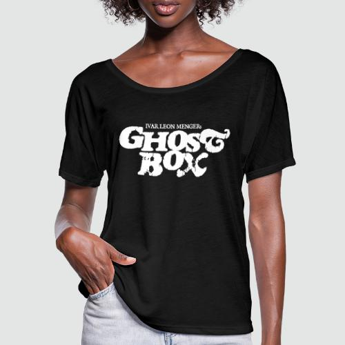 Ghostbox - Frauen T-Shirt mit Fledermausärmeln von Bella + Canvas