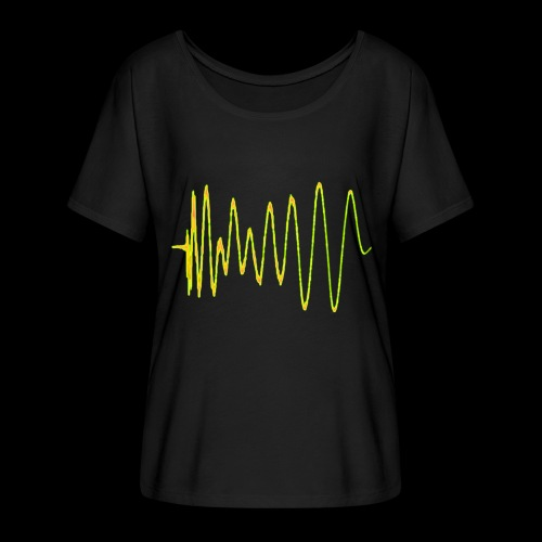 Boom 909 Drum Wave - Women's Batwing-Sleeve T-Shirt by Bella + Canvas