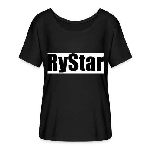 Ry Star clothing line - Women's Batwing-Sleeve T-Shirt by Bella + Canvas