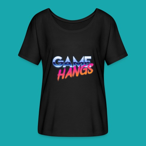 GameHangs Snapback - Women's Batwing-Sleeve T-Shirt by Bella + Canvas
