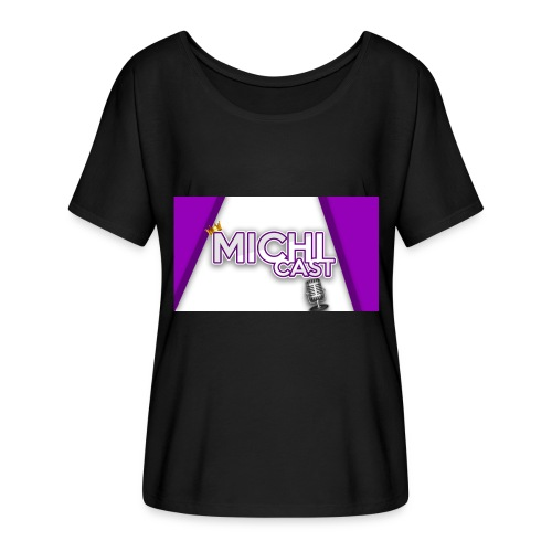 Camisa MichiCast - Women's Batwing-Sleeve T-Shirt by Bella + Canvas
