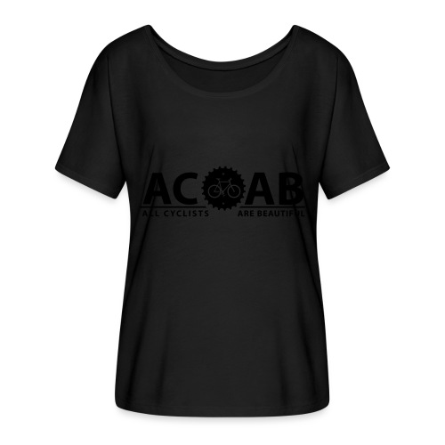 ACAB All Cyclists Are Beautiful T-Shirts - Frauen T-Shirt mit Fledermausärmeln von Bella + Canvas