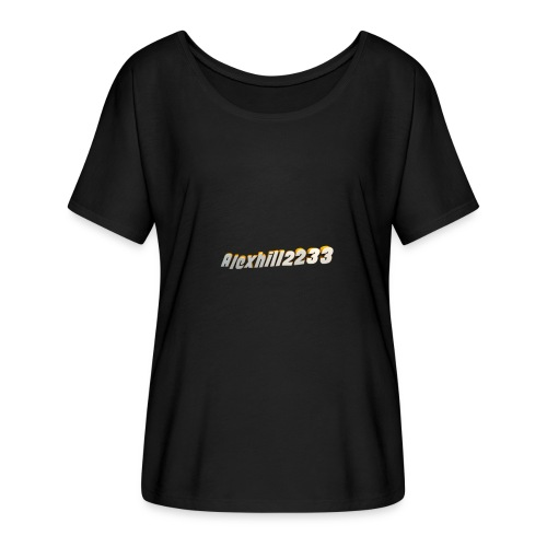 Alexhill2233 Logo - Women's Batwing-Sleeve T-Shirt by Bella + Canvas