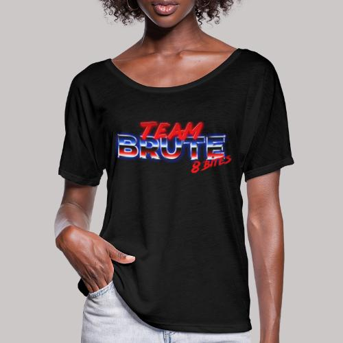 Team BRUTE Red - Women's Batwing-Sleeve T-Shirt by Bella + Canvas