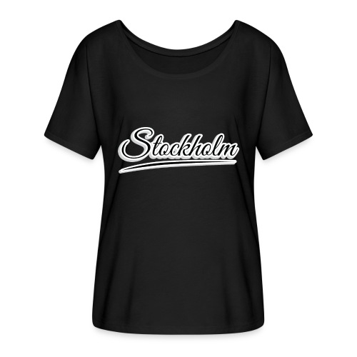 stockholm - Women's Batwing-Sleeve T-Shirt by Bella + Canvas